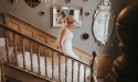 trunkwell-house-hotel-gay-friendly-wedding-venue-berkshire-bride-staircase